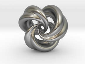 Integrable Flow (5, 3) in Natural Silver