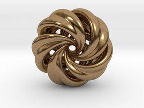 Integrable Flow (7, 5) in Natural Brass