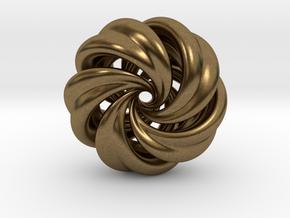 Integrable Flow (7, 5) in Natural Bronze