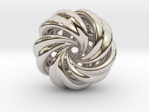 Integrable Flow (7, 5) in Rhodium Plated Brass