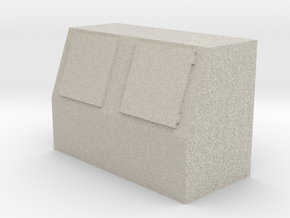 Gas Station/Convenience Store Ice Merchandiser- HO in Natural Sandstone
