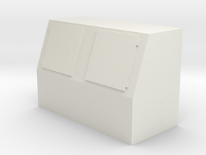 Gas Station/Convenience Store Ice Merchandiser- HO in White Natural Versatile Plastic