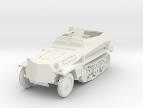 PV157E Sdkfz 250/1 SPW (1/30) in White Natural Versatile Plastic