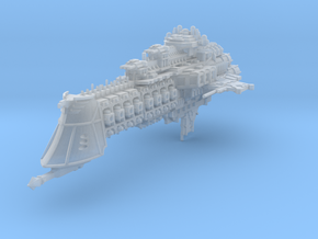 Overlord Battlecruiser in Frosted Ultra Detail