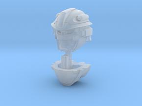 Krok Head for Titans Return Compatibility in Smooth Fine Detail Plastic