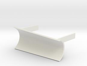 Tomy / Trackmaster Snowplough Type 5 Size 2 LEFT in White Natural Versatile Plastic