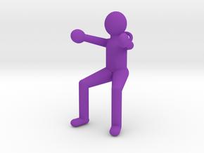 Porteur-Art-Porte-Clefs-NW in Purple Processed Versatile Plastic