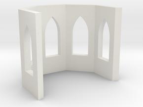 shkr018 - Teil 18 Chor ohne Fenster nur mit Leibun in White Strong & Flexible