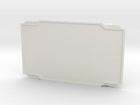 The Quick Draw in White Premium Versatile Plastic