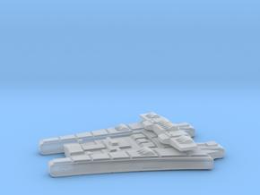 3125 Scale Maesron Bombardment Cruiser MGL in Smooth Fine Detail Plastic