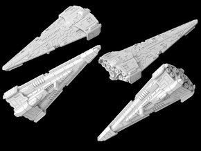 (Armada) New Republic Raider Corvette in White Natural Versatile Plastic