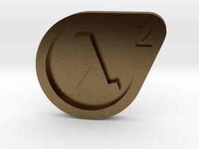 Half Life ® Token: Paragon in Natural Bronze