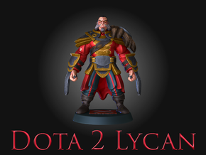 Dota2Lycan in Full Color Sandstone