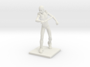 Darkelves 12 - Assassin in White Natural Versatile Plastic
