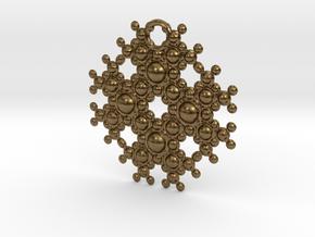 TOA Pendant in Natural Bronze