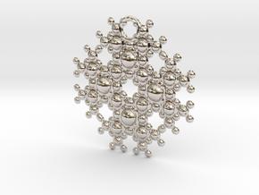 TOA Pendant in Platinum