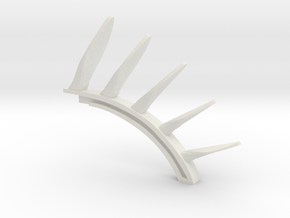 Magnetism spine in White Natural Versatile Plastic
