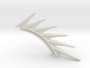 Gravity spine in White Natural Versatile Plastic