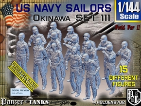 1/144 USN Okinawa set111 in Smooth Fine Detail Plastic