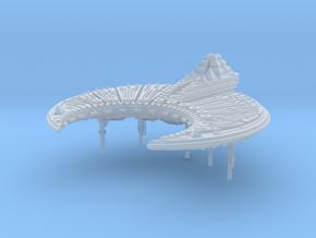 Harvester Battleship in Smooth Fine Detail Plastic