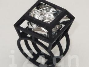 ring06 18 in Black Natural Versatile Plastic