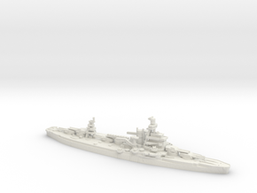USS Arkansas 1/600 in White Natural Versatile Plastic