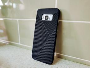 Samsung Galaxy S8 case_Geometric in Black Strong & Flexible