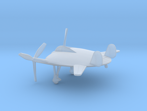 Vought V-173 Flying Pancake in Smooth Fine Detail Plastic: 6mm