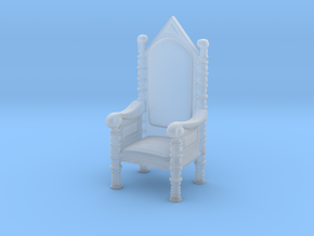Printle Thing Throne - 1/72 in Smooth Fine Detail Plastic