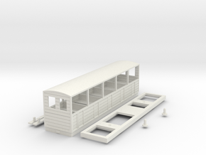 BM4-120 B&WLR Coach 5 in White Natural Versatile Plastic