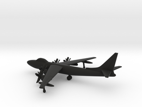 Boeing XB-55 in Black Natural Versatile Plastic: 1:400