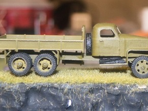Studebaker US6 HO, 1/87th, scale in Smooth Fine Detail Plastic