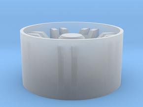 Gauntlet Wheel in Smooth Fine Detail Plastic: 1:25