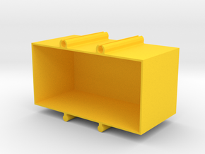 box for electrical components in Yellow Processed Versatile Plastic