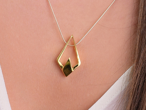 HIDDEN HEART Lightron, Pendant in 18K Gold Plated