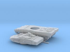 Leopard-2E-TT-3-piezas in Smooth Fine Detail Plastic
