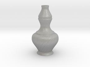 Labu Sayong Vase in Aluminum