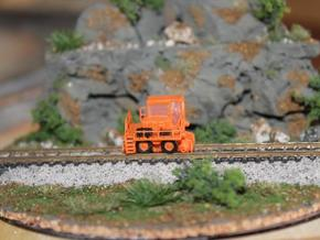 RailKing RK275 Railcar Mover - Zscale in Smooth Fine Detail Plastic
