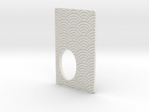 Door for 22mm JWP Squonker Body 18650 in White Natural Versatile Plastic