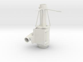 Superliner-air-cleaner-RH in White Natural Versatile Plastic