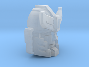 Silverblue Daemon's Face in Smooth Fine Detail Plastic