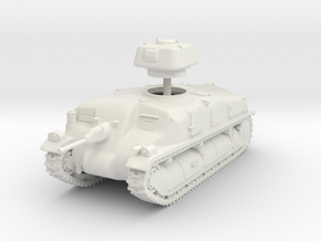 1/72 SAu-40 Mle 37 SPG in White Natural Versatile Plastic