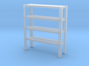 1/64 Big shelving  in Smooth Fine Detail Plastic