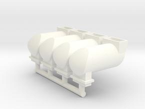 MILW F Spark Arrestor (O -1:48) 4X in White Processed Versatile Plastic