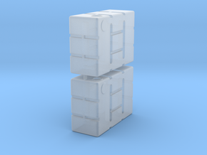 1:72 Star Wars Refueling Containers in Smooth Fine Detail Plastic