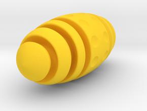 BumbleBEE keychain in Yellow Processed Versatile Plastic