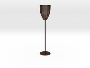 Goblet in Matte Bronze Steel