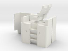 Atlas Standard Vision Caboose Cupola Interior shor in White Strong & Flexible