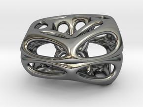 Klein Chopstick Rest (001) in Polished Silver