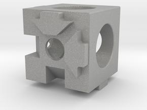 MakerBeam (10x10mm) 3 Corner Cube in Aluminum